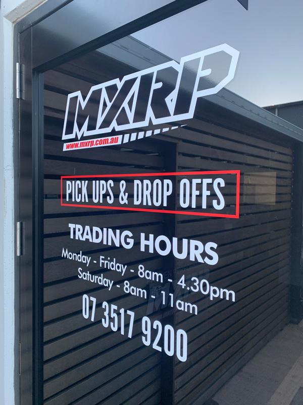 MXRP - Sunshine Coast Motorcycle Shop